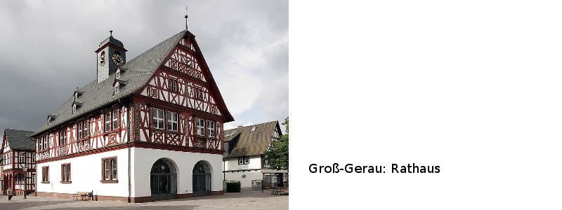 Rathaus von Groß-Gerau